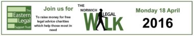 Eastern Legal Walk April 2016