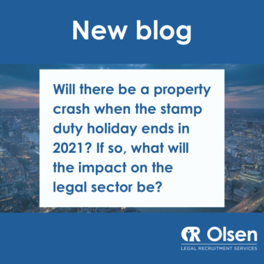 Will there be a property crash when the stamp duty holiday ends